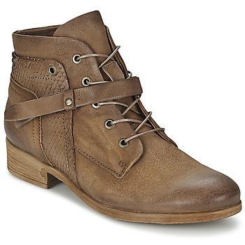 Sapatos Mulher Botas baixas Mjus SANDEO Castanho