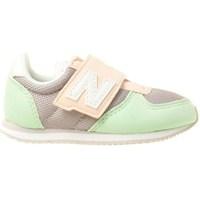 Sapatos Criança Sapatilhas New Balance 220 Verde claro,Cinzento,Cor-de-rosa