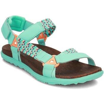 Sapatos Mulher Sandálias Merrell Around Town Sunvue Woven Verde