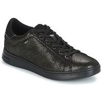 Sapatos Mulher Sapatilhas Geox D JAYSEN Cinza / Preto