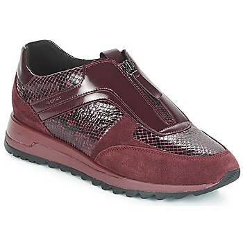 Sapatos Mulher Sapatilhas Geox D TABELYA Vermelho