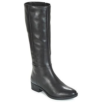 Sapatos Mulher Botas Geox D FELICITY Preto