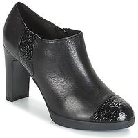 Sapatos Mulher Botas baixas Geox D ANNYA HIGH Preto