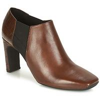 Sapatos Mulher Botas baixas Geox D VIVYANNE HIGH Castanho