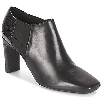 Sapatos Mulher Botas baixas Geox D VIVYANNE HIGH Preto