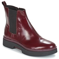 Sapatos Mulher Botas baixas Geox D MYLUSE Bordô