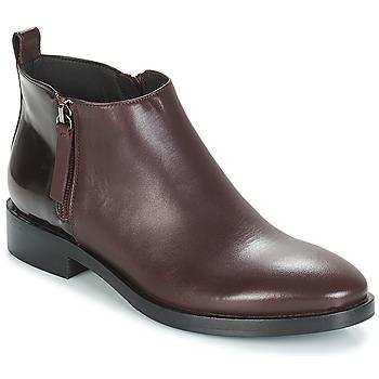 Sapatos Mulher Botins Geox DONNA BROGUE Bordô