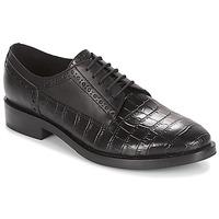 Sapatos Mulher Sapatos Geox DONNA BROGUE Preto