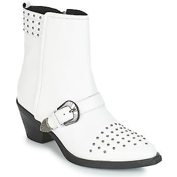 Sapatos Mulher Botins Geox D LOVAI Branco