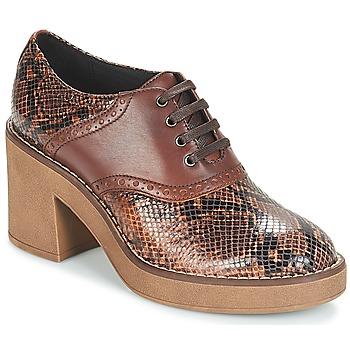 Sapatos Mulher Botas baixas Geox D ADRYA MID Castanho