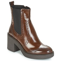 Sapatos Mulher Botins Geox D ADRYA MID Castanho