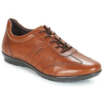 Sapatos Homem Sapatos Geox UOMO SYMBOL Castanho