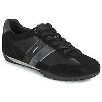 Sapatos Homem Sapatilhas Geox U WELLS Preto / Marinho