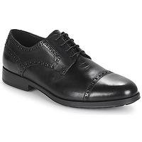 Sapatos Homem Sapatos Geox U HILSTONE 2FIT Preto