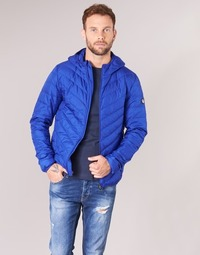 Textil Homem Quispos Emporio Armani EA7 TRAIN CORE SHIELD 8NPB09 Azul / Elétrico