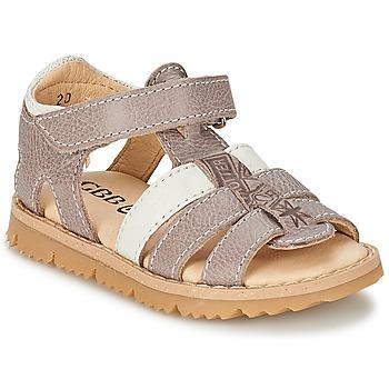 Sapatos Rapaz Sandálias GBB IGNAM Cinza