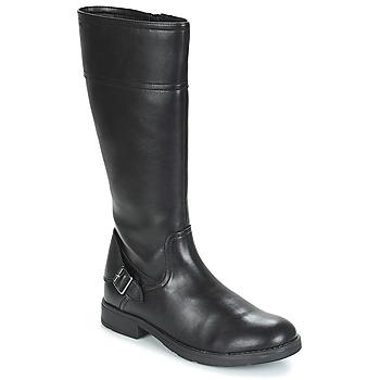 Sapatos Rapariga Botas Geox JR SOFIA Preto
