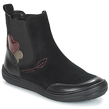 Sapatos Rapariga Botas baixas Geox J HADRIEL GIRL Preto
