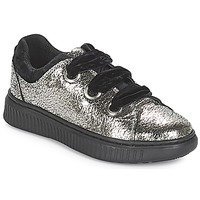 Sapatos Rapariga Sapatilhas Geox J DISCOMIX GIRL Prata