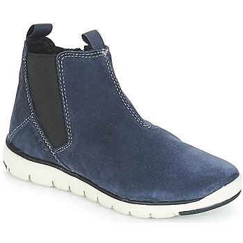 Sapatos Rapaz Botas baixas Geox J XUNDAY BOY Marinho