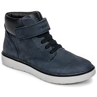Sapatos Rapaz Sapatilhas de cano-alto Geox J RIDDOCK BOY WPF Marinho