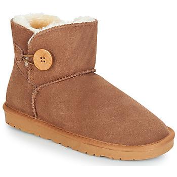 Sapatos Mulher Botas baixas Kaleo NEDRI Camel