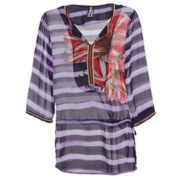 Textil Mulher Tops / Blusas Desigual ALONDRA Multicolor