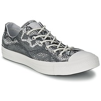 Sapatos Mulher Sapatilhas Converse CT REPT PRT OX Preto / Branco
