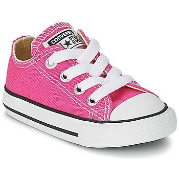 Sapatos Rapariga Sapatilhas Converse Chuck Taylor All Star SEASON OX Rosa