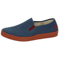 Sapatos Homem Slip on Oldroof  Azul