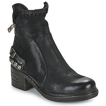 Sapatos Mulher Botas baixas Airstep / A.S.98 NOVA 17 Preto
