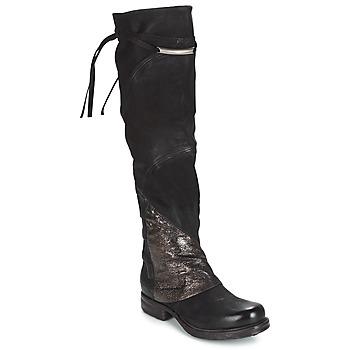 Sapatos Mulher Botas altas Airstep / A.S.98 SAINT EC PATCH Preto