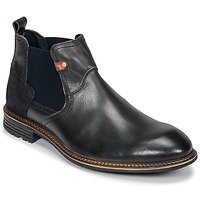 Sapatos Homem Botas baixas Casual Attitude FIORELLA Cinza / Escuro