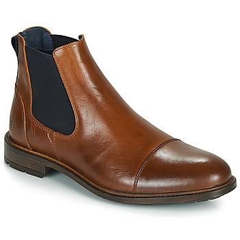 Sapatos Homem Botas baixas Casual Attitude JANDY Castanho