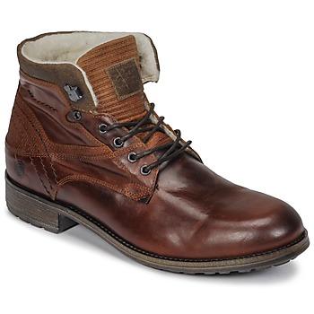 Sapatos Homem Botas baixas Casual Attitude JOPA Castanho