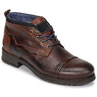 Sapatos Homem Botas baixas Casual Attitude JABILON Castanho