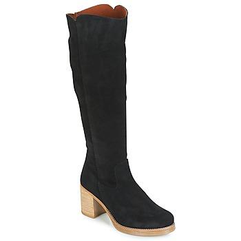 Sapatos Mulher Botas Casual Attitude HAPI Preto