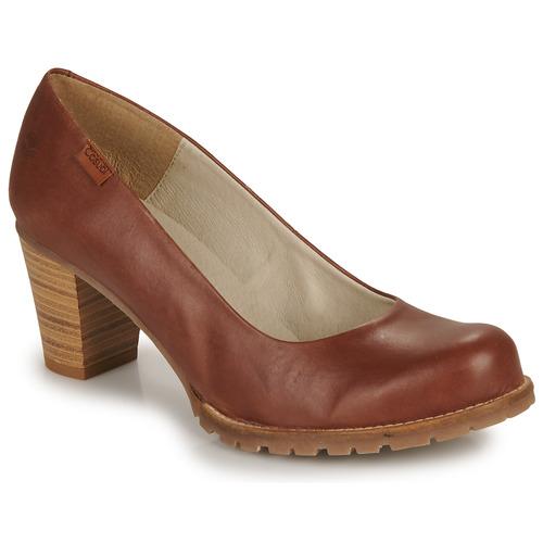 Sapatos Mulher Escarpim Casual Attitude HARCHE Castanho