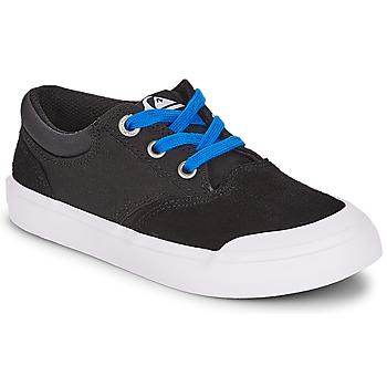 Sapatos Rapaz Sapatilhas Quiksilver VERANT YOUTH Preto