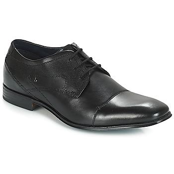 Sapatos Homem Sapatos Bugatti ROMEI Preto
