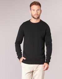Textil Homem camisolas Jack & Jones JJEBASIC Preto