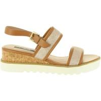Sapatos Mulher Sandálias MTNG 55401 MOLLY Beige