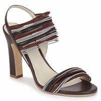 Sapatos Mulher Sandálias Jil Sander JS16121 Castanho