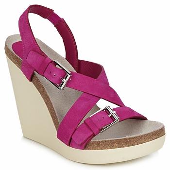 Sapatos Mulher Sandálias Jil Sander JS16295 Rosa