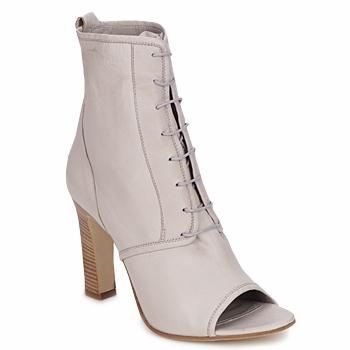Sapatos Mulher Botins Jil Sander JS16328 Bege