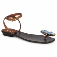 Sapatos Mulher Sandálias Marc Jacobs MJ16131 Castanho / Azul
