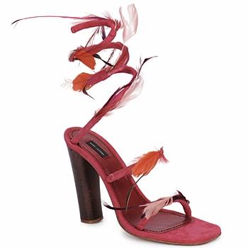 Sapatos Mulher Sandálias Marc Jacobs MJ16385 Rosa