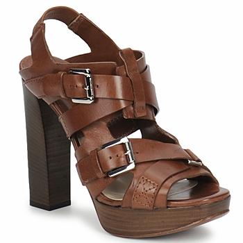 Sapatos Mulher Sandálias Michael Kors MOWAI Castanho