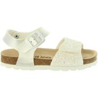Sapatos Rapariga Sandálias Cheiw 47124 Blanco