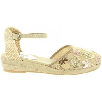 Sapatos Rapariga Alpargatas MTNG 45706 R1 Gold